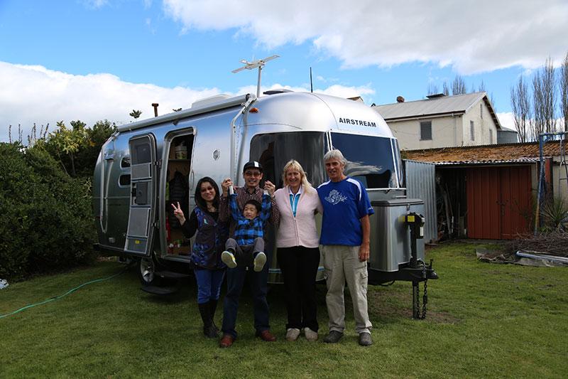 Airstream in Hastings