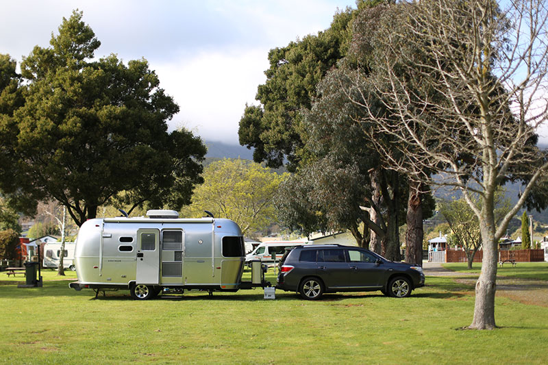 Airstream @ Parklands Camping Ground Picton
