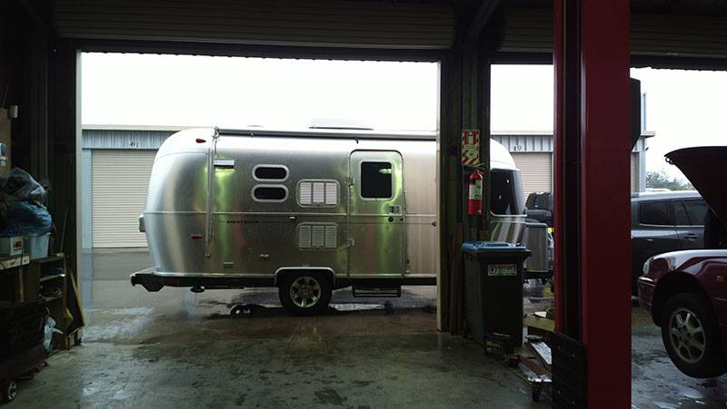 Airstream for New Zealand WOF