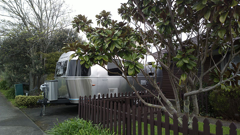 Airstream in Palmy