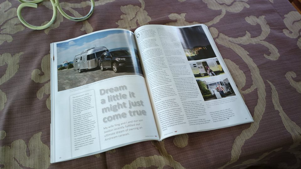 Featured in The Motor Caravanner Magazine