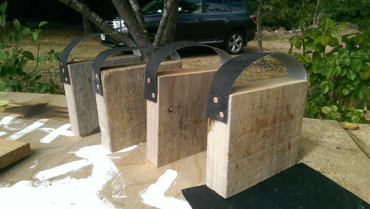 Caravan Stablising Foot Pads