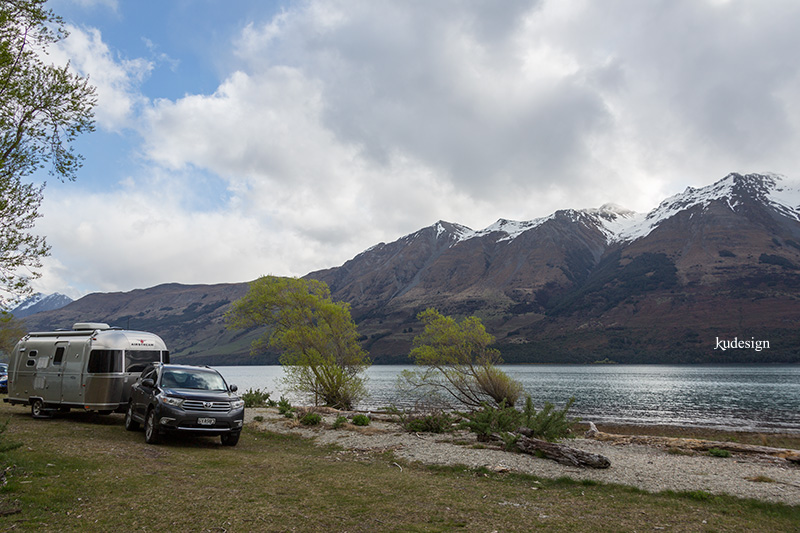 Airstream Club at Glenorchy New Zealand