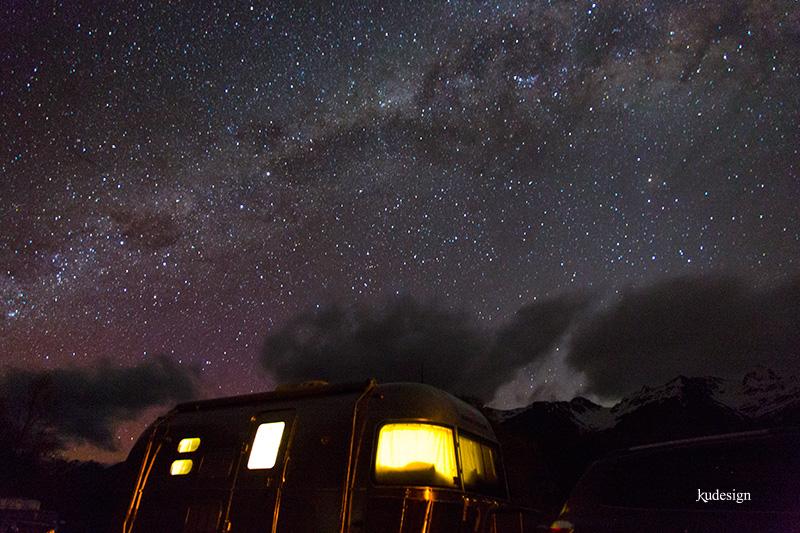 Glenorchy stars over Airstream